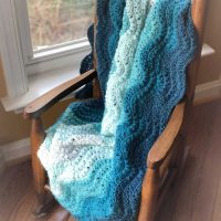 Bahama Waves Crochet Baby Blanket Pattern by Stitch in Progress