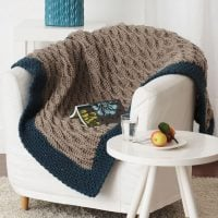 Bernat Quick and Easy Blanket Pattern