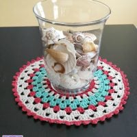 Coastal Placemat With Shells