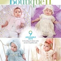 Cover Beautiful Baby Boutique II. Annies Craft Store. Book Review by Oombawka Design Crochet
