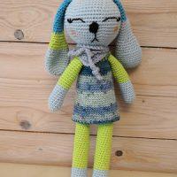 Cute Bunny in a Dress by Frau Tschi-Tschi