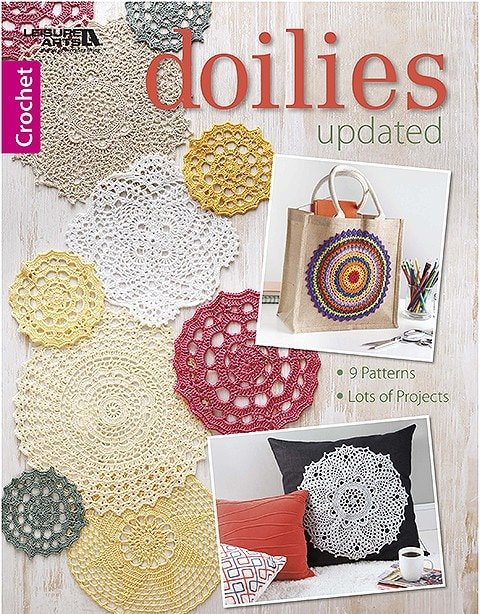 Doilies Updated Leisure Arts. Review by Oombawka Design Crochet