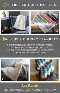 Super Chunky Crochet Blanket Patterns