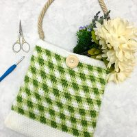 Gingham Market Tote Pattern