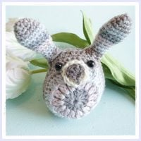 Little Easter Bunny Crochet Pattern from Frau Tschi-Tschi