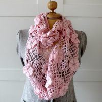Floral Whisper Scarf by Lilia Craft Party
