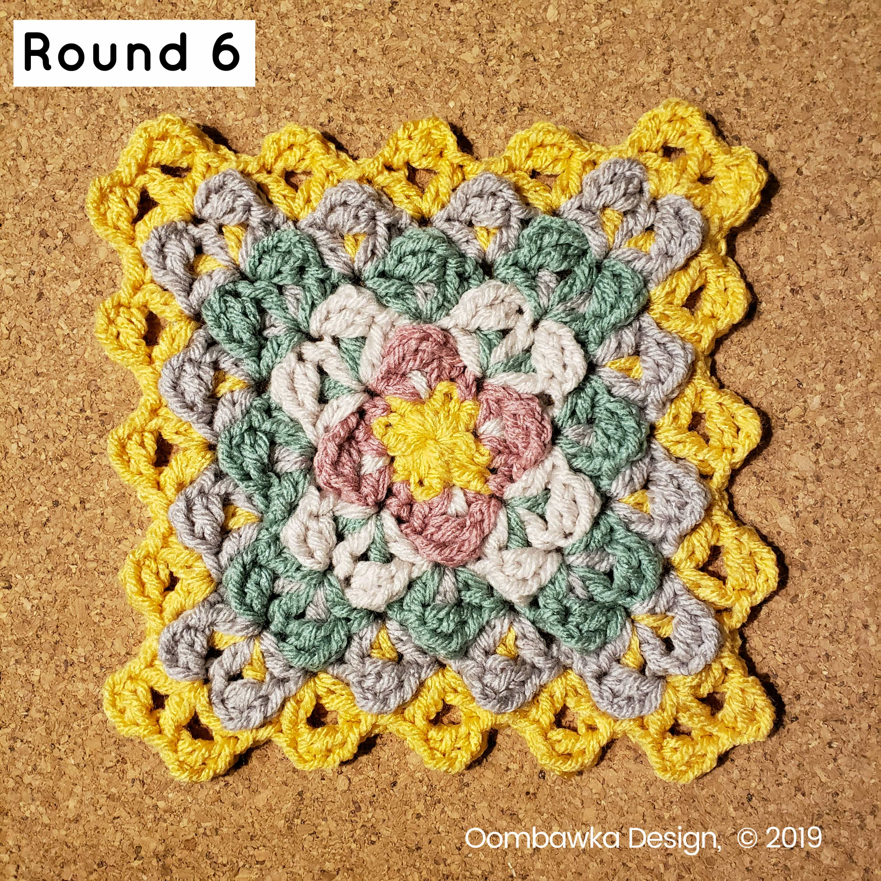 R6 Finding Balance Afghan Square Round 6