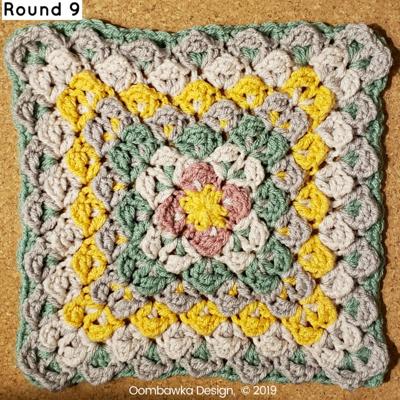 R9 Finding Balance Afghan Square Round 9
