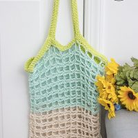 Simple Mesh Market Tote Pattern