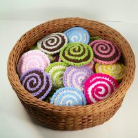 Spiral Face Scrubby Pattern