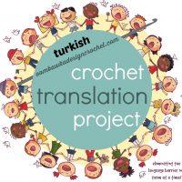 Turkish crochet translation project