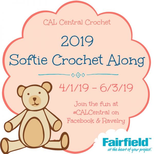 Second Annual Softie Crochet Along with Cal Central and Fairfield.