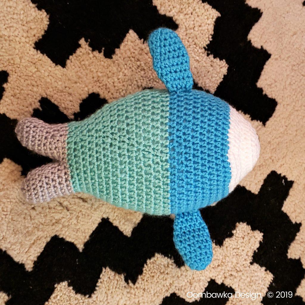 Baby Seal Crochet Pattern oombawkadesigncrochet 2019 underside