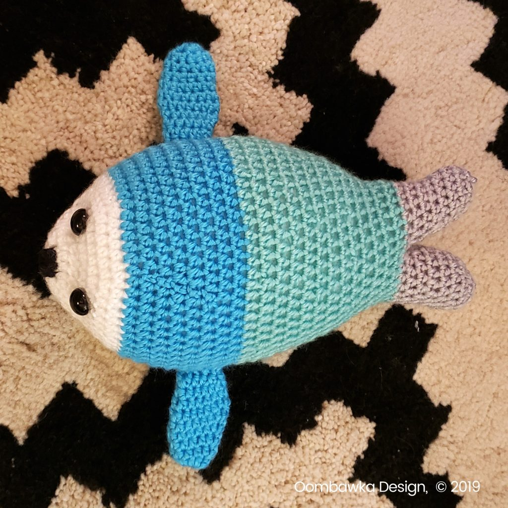 Baby Seal Crochet Pattern oombawkadesigncrochet 3