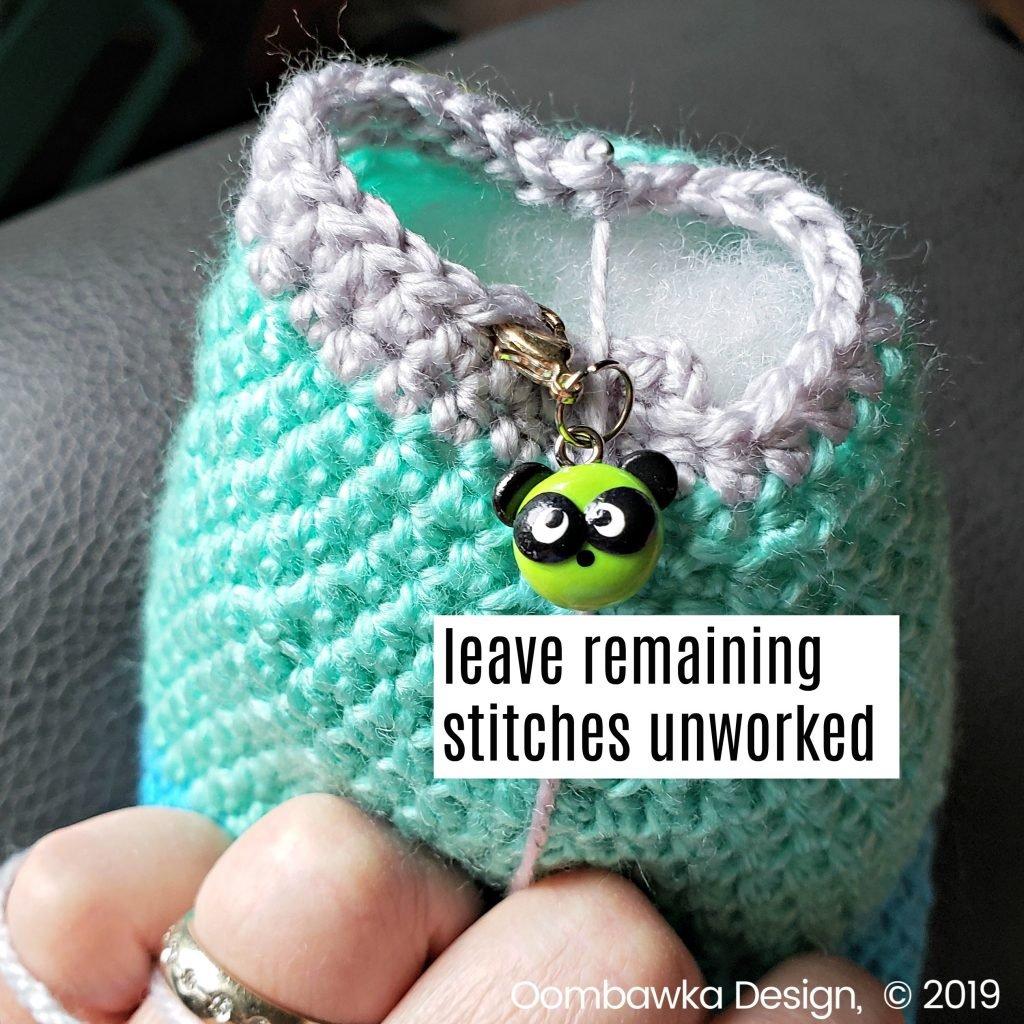 Baby Seal Crochet Pattern oombawkadesigncrochet leave rem sts unworked
