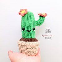 Camilla Cactus Amigurumi Pattern by Spin a Yarn Crochet