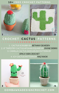 Free Pattern Roundup. Free Cactus Crochet Patterns