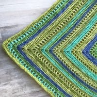 Granny Filet Square Afghan Pattern