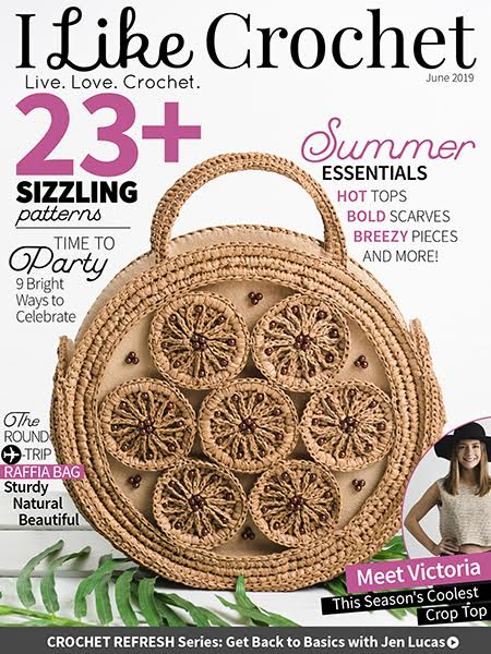 The newest issue of I Like Crochet is now available! It is filled with trendy and exclusive patterns you won\'t want to miss!