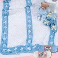 Little Boy Blue Blanket Pattern