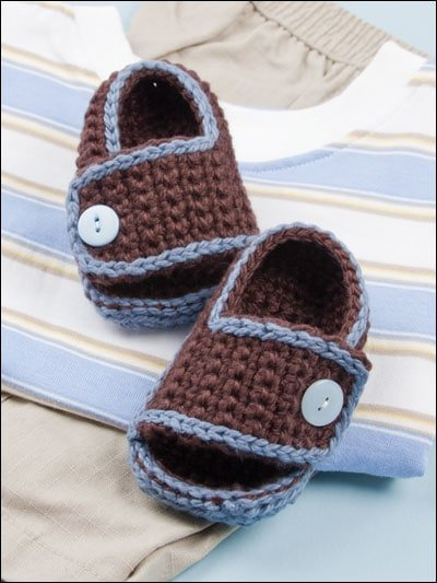 Beautiful Baby Shoes from Annies Craft Store eBook Review by Oombawka Design Crochet