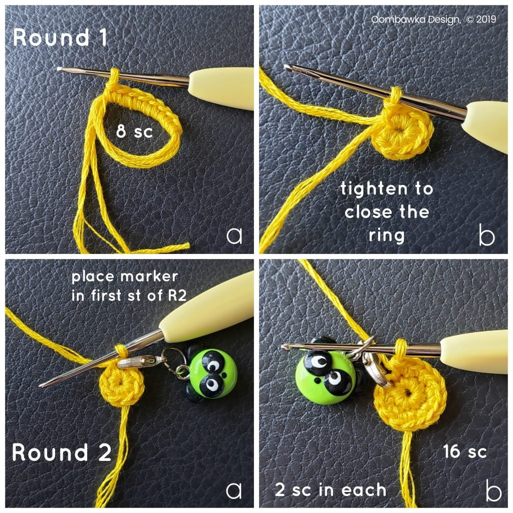Round 1 and Round 2 Daisy Oombawka Design