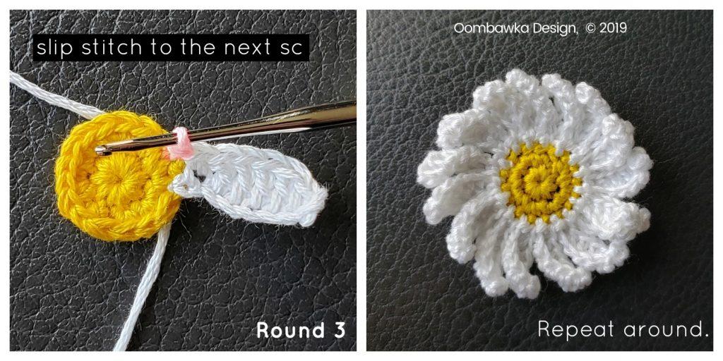 Round 3 finished Daisy Oombawka Design