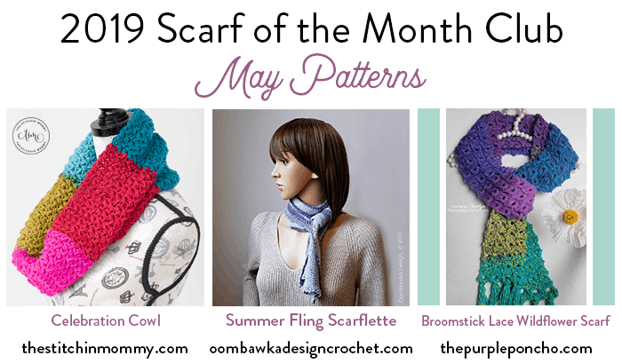 Scarf of the Month Club 2019 May