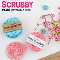 Seeing Spirals Crochet Face Scrubby Pattern – Winding Road Crochet