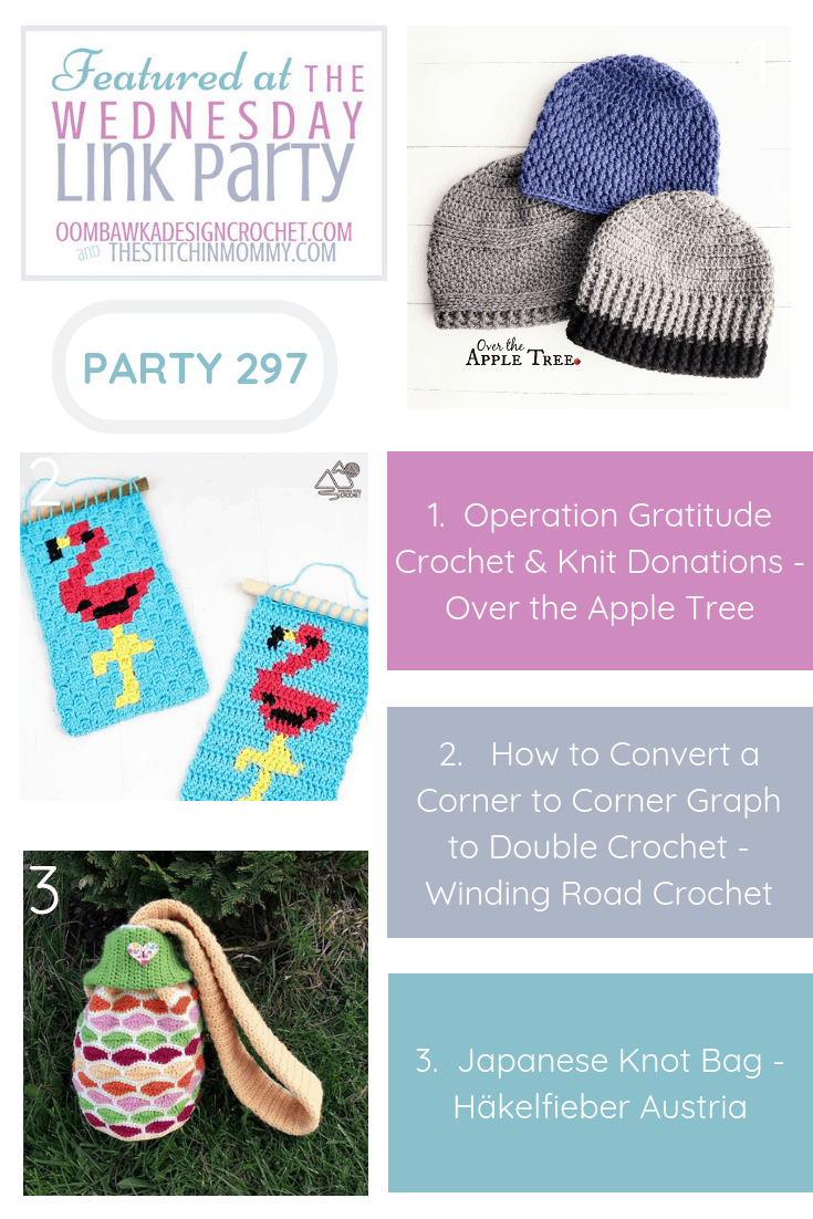 Featuring Operation Gratitude Crochet & Knit Donations