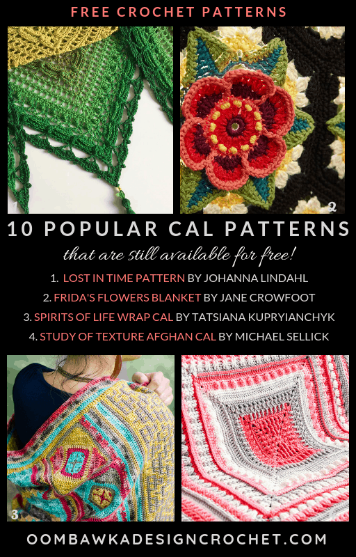 Popular CAL Patterns That Are Still Available for Free!