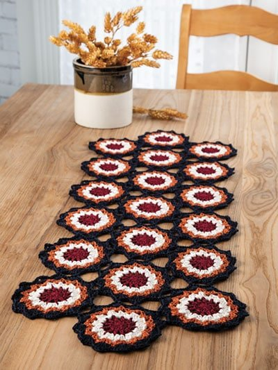 Country Living Table Runner Crochet Home. Annies Craft Store