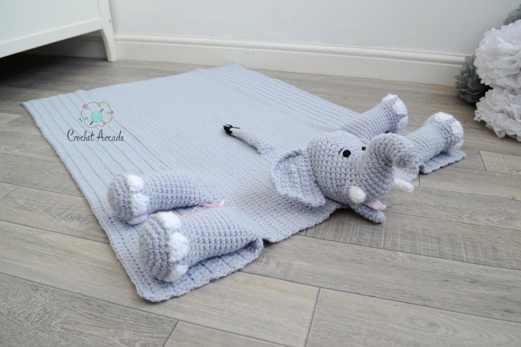 Josefina And Jeffery Crochet Elephant Pillow 2018 Pattern Update ... | 1333x2000