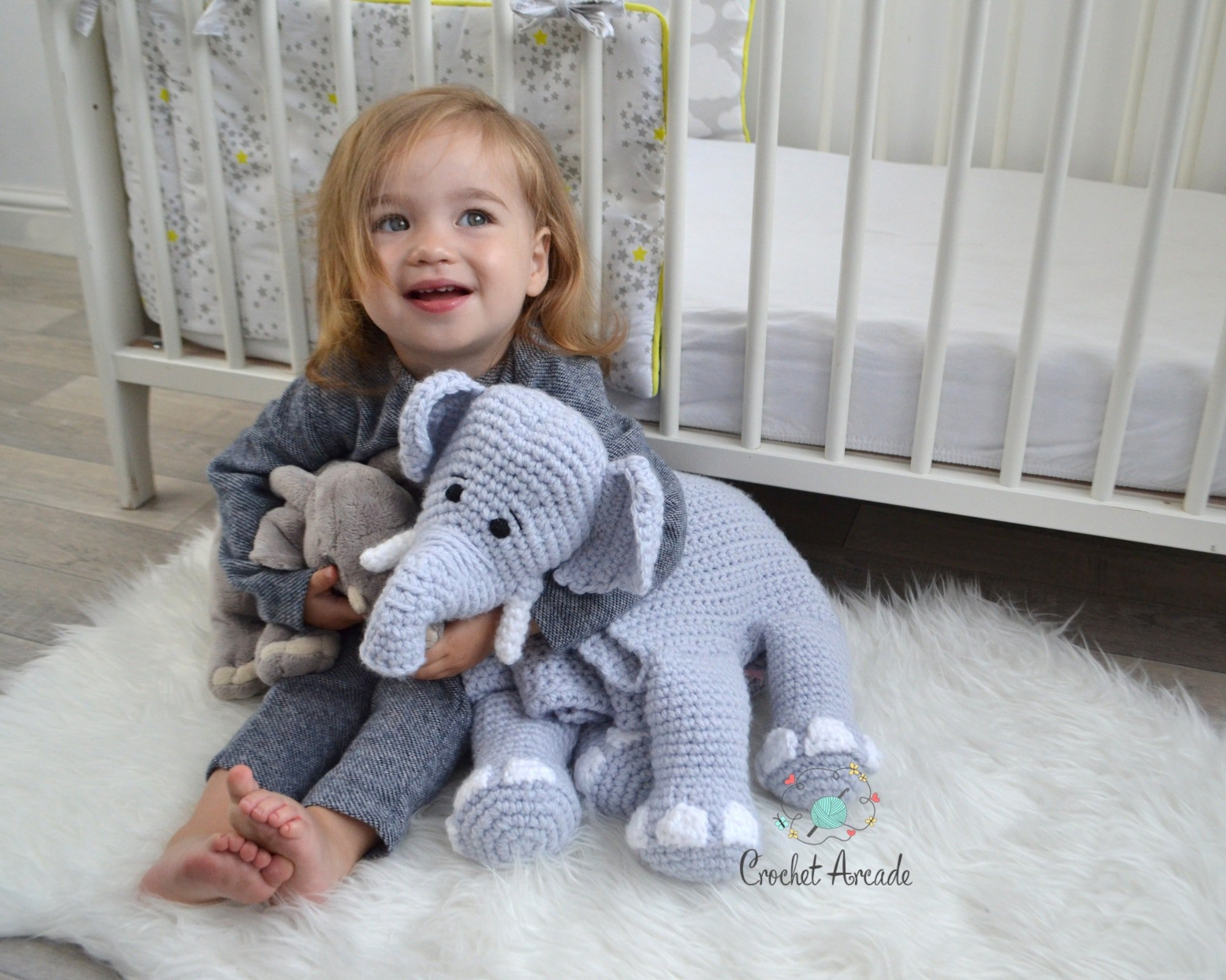 Cuddle And Play Elephant Blanket Pattern Oombawka Design Crochet