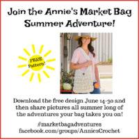 Crochet Market Bag Promo