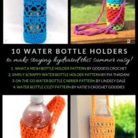 Free Crochet Water Bottle Holder Patterns
