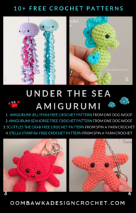 Free Under the Sea Crochet Patterns Amigurumi Sea