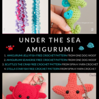 Free Under the Sea Crochet Patterns Amigurumi Sea