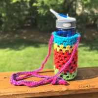 Simply Scrappy Water Bottle Holder Pattern