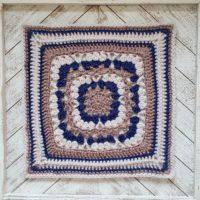 Wedded Bliss Afghan Square Pattern. Oombawka Design Crochet