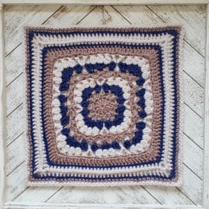 Wedded Bliss Afghan Square Pattern. Oombawka Design Crochet