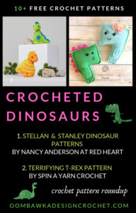 10 Free Crochet Dinosaur Patterns