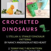 10 Free Crochet Dinosaur Patterns