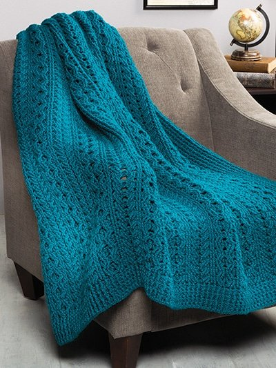 Hills of Ireland Throw All-Time Favorite Afghans by Annie's Craft Store - Review by Rhondda at Oombawka Design Crochet