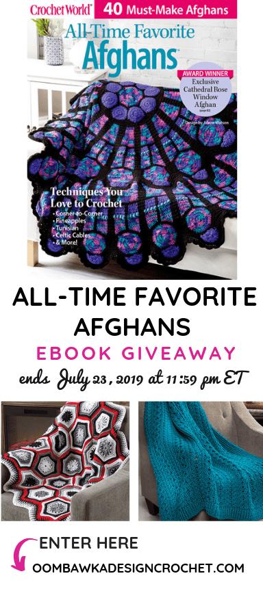 All-time favorite afghans Giveaway ends July 23 2019 1159 pm ET