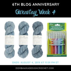 Anniversary Giveaway Week 4 Oombawka Design Crochet