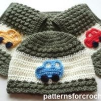 Childs Hat and Scarf Set Pattern