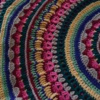 Circular Fall Mandala Pattern