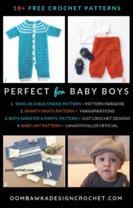 Free Crochet Patterns Perfect for Baby Boys