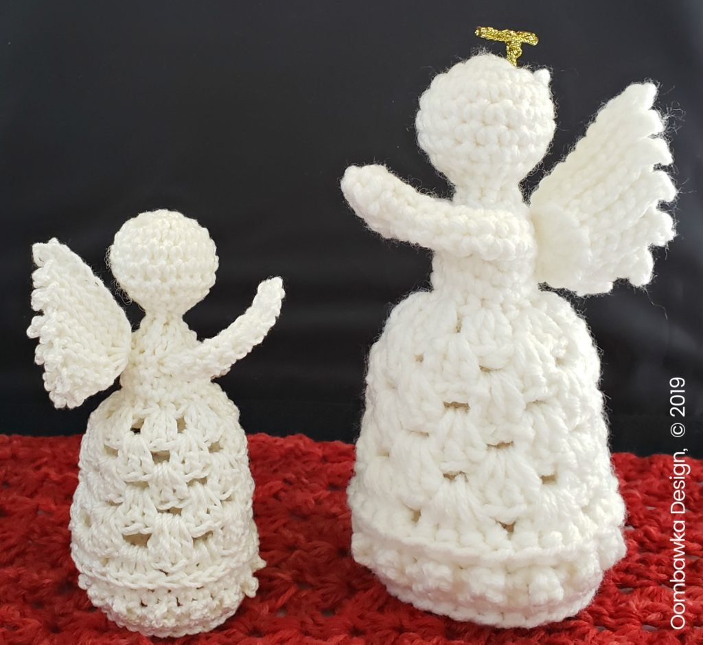 Guardian Angel 2019 Oombawka Design Crochet together